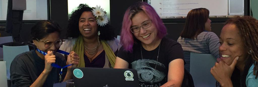 Speaking and coding at the Lesbians Who Tech NYC Summit