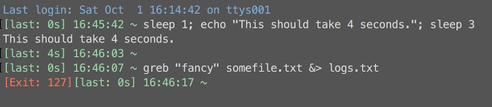 Bash Prompt Mods: Last Command Time and Conditional Exit Codes