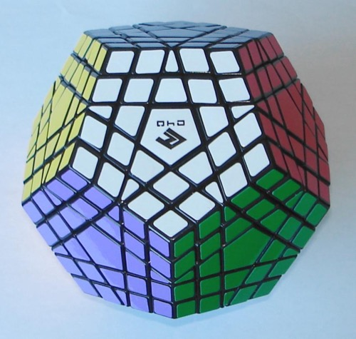 Gigaminx, a really intimidating Rubik's cube variation